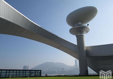Radar Tower of Kai Tak Cruise Terminal